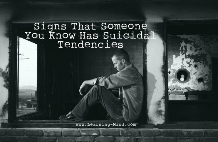 Signs That Someone Has Suicidal Tendencies (and How to Help Them)
