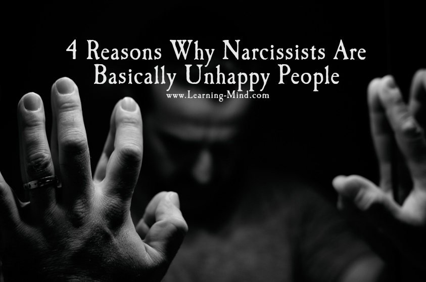 unhappy people narcissists