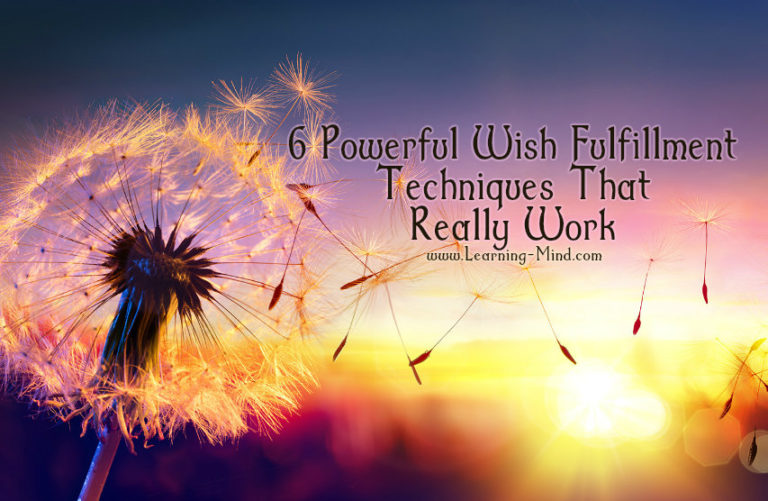6 Powerful Wish Fulfillment Techniques You Could Try