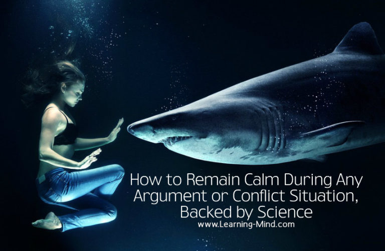 How to Remain Calm During Any Argument or Conflict Situation, Backed by Science