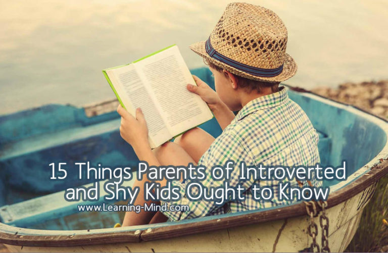 15 Things Parents of Introverted and Shy Kids Ought To Know