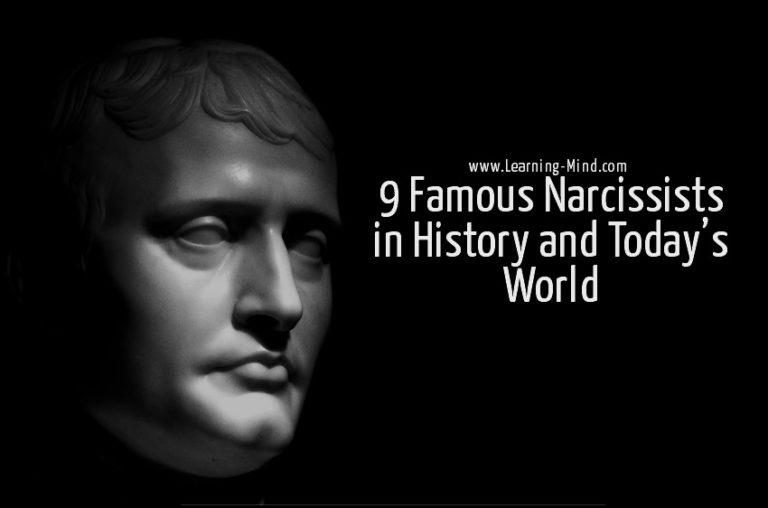 9 Famous Narcissists in History and Today's World
