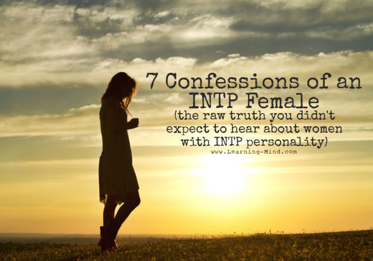 7 Confessions of an INTP Female