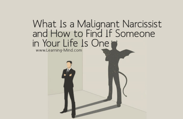 What Is a Malignant Narcissist and How to Recognize One in Your Life