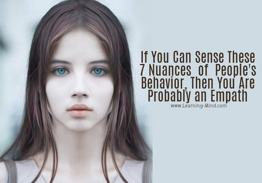 nuances behavior empath