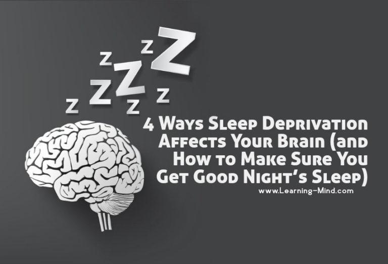 4 Ways Sleep Deprivation Affects Your Brain