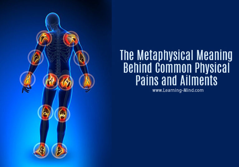 The Metaphysical Meaning Behind Common Physical Pains and Ailments