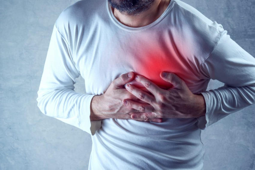 heart pain symptoms