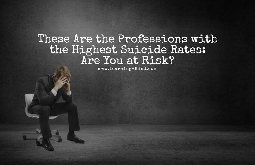 These Are the Professions with the Highest Suicide Rates: Are You at Risk?