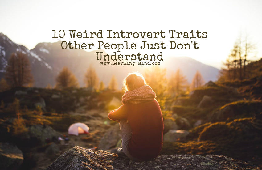 10 Weird Introvert Traits Other People Just Don't Understand