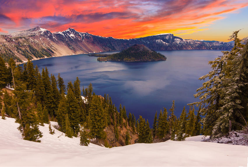 Crater Lake places of power
