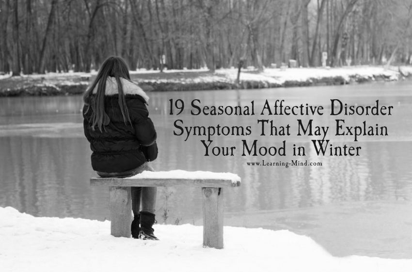 19 Seasonal Affective Disorder Symptoms That May Explain Your Mood in Winter