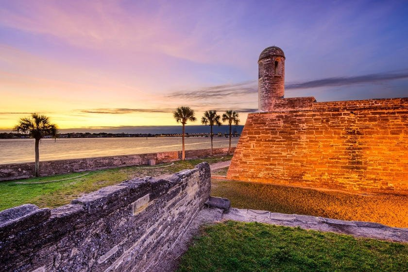 St. Augustine places of power
