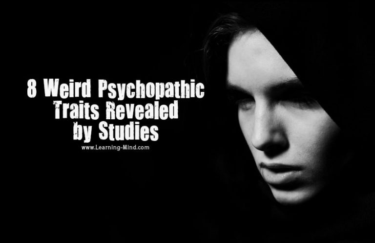 8 Weird Psychopathic Traits Revealed by Studies