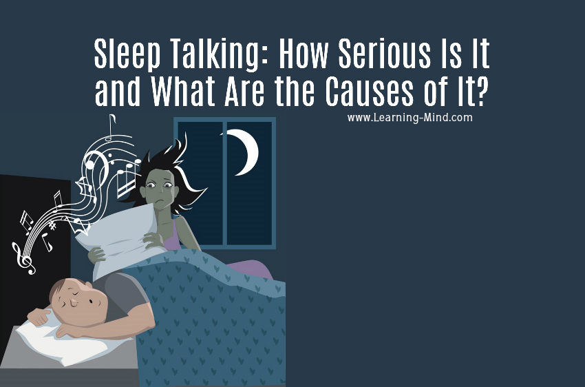Sleep Talking: How Serious Is It and What Are the Causes of It?