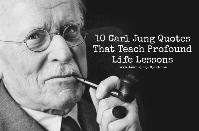 10 Carl Jung Quotes That Teach Profound Life Lessons