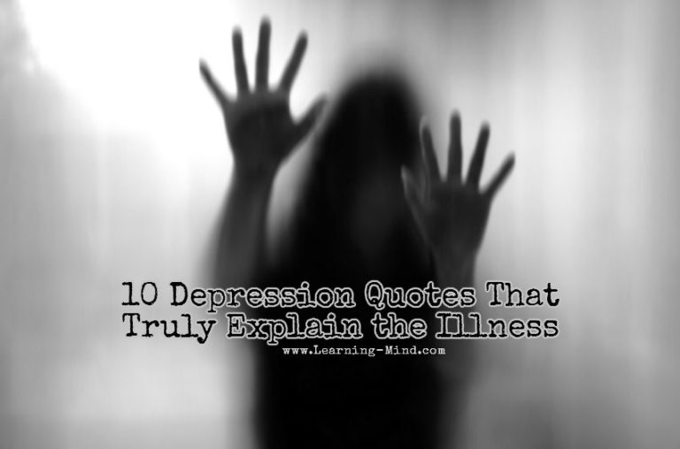 10 Depression Quotes That Truly Explain the Illness