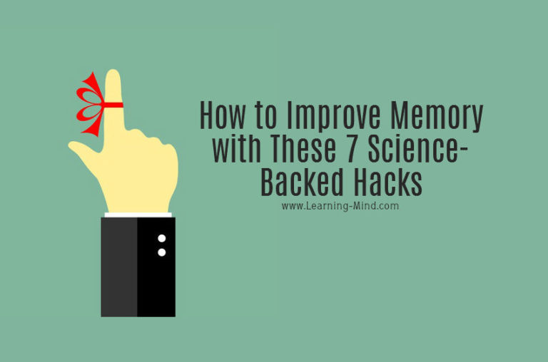 How to Improve Memory with These 7 Science-Backed Hacks