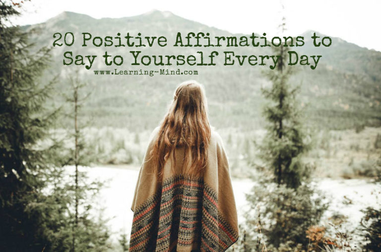 20 Positive Affirmations to Say to Yourself Every Day