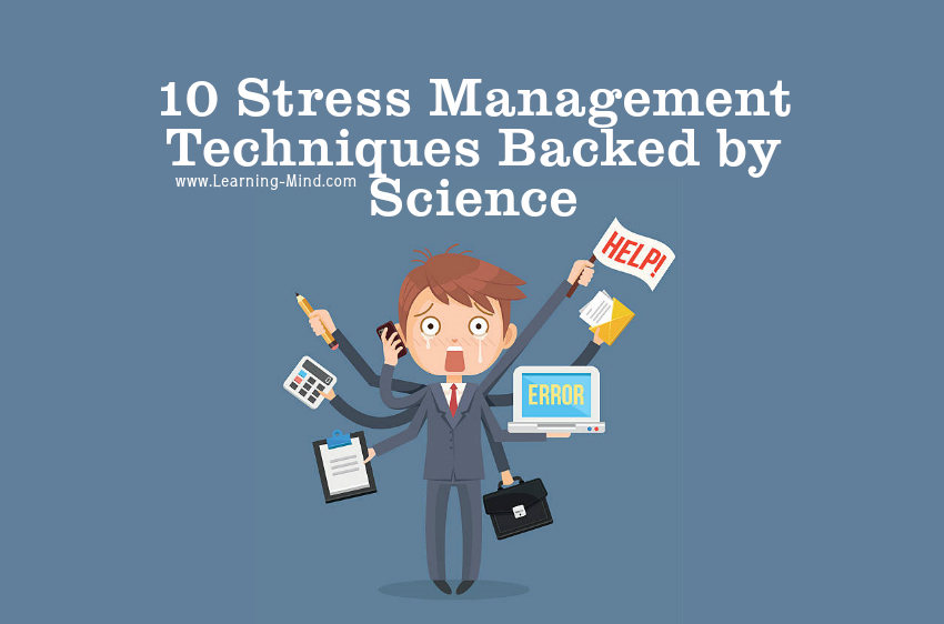 10 Stress Management Techniques Backed by Science