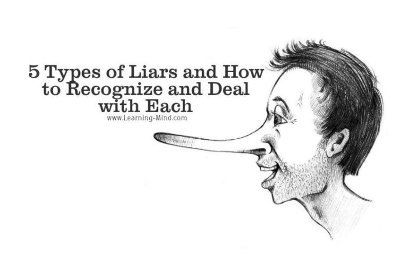 5 Types of Liars and How to Recognize and Deal with Each