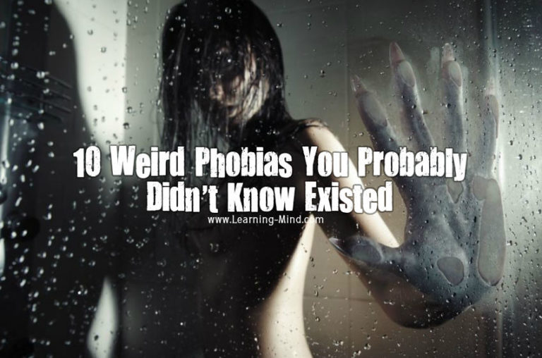 10 Weird Phobias You Probably Did Not Know Existed