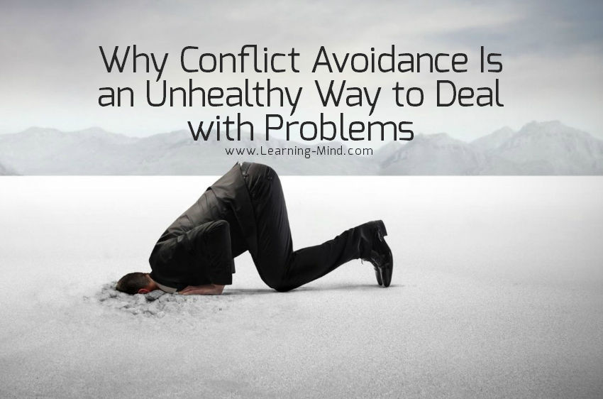 Why Conflict Avoidance Is an Unhealthy Way to Deal with Problems