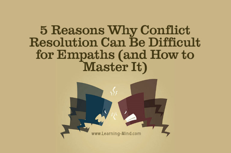 Why Conflict Resolution Can Be Difficult for Empaths (and How to Master It)