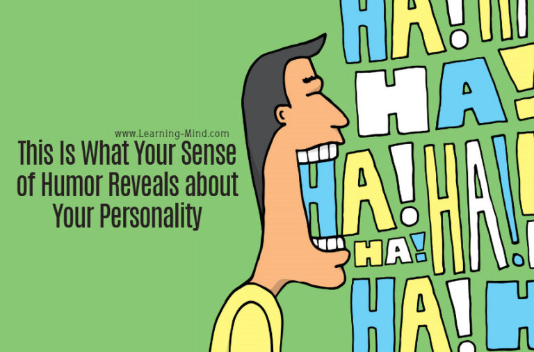 This Is What Your Sense of Humor Reveals about Your Personality