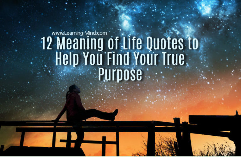 12 Meaning of Life Quotes to Help You Find Your True Purpose