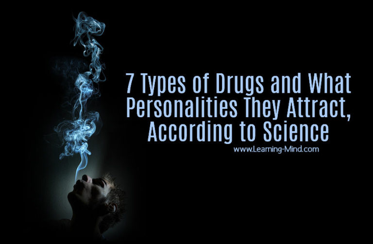 7 Types of Drugs and What Personalities They Attract, According to Science