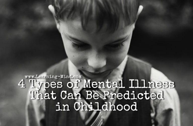 4 Types of Mental Illness That Can Be Predicted in Childhood