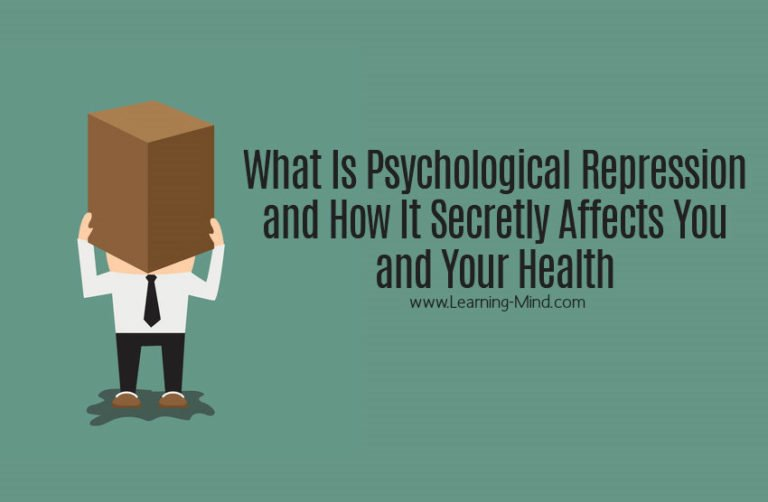 What Is Psychological Repression and How It Secretly Affects You and Your Health