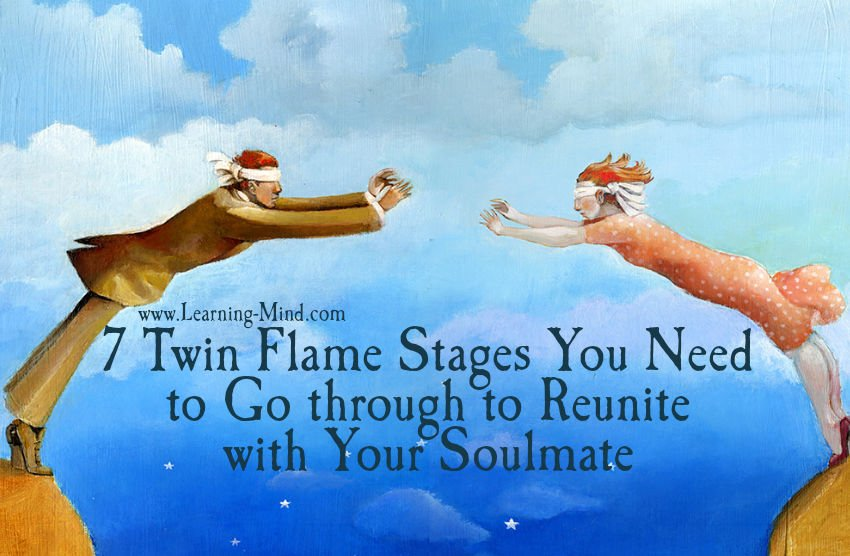 7 Twin Flame Stages You Need to Go through to Reunite with Your Soulmate