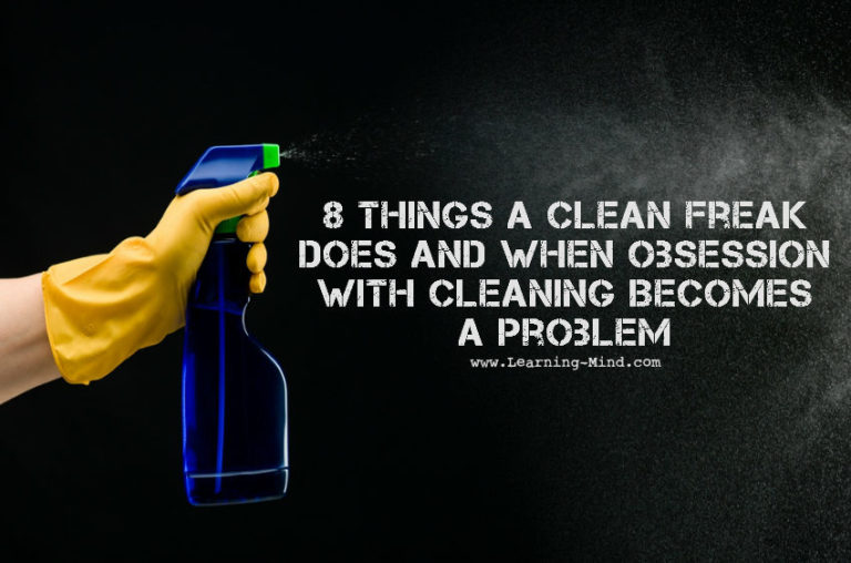 8 Things a Clean Freak Does and When Obsessive Cleaning Becomes a Problem