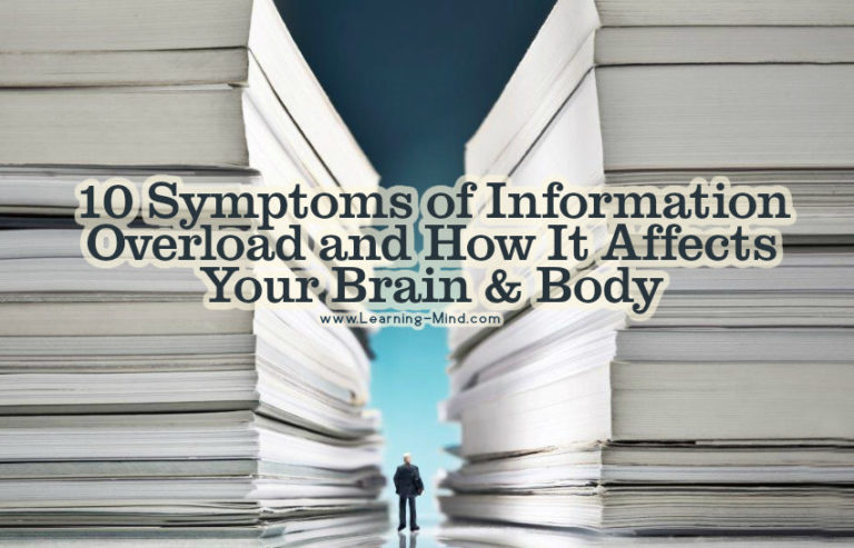 10 Symptoms of Information Overload and How It Affects Your Brain & Body