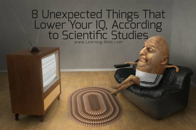 8 Unexpected Things That Lower IQ, According to Scientific Studies