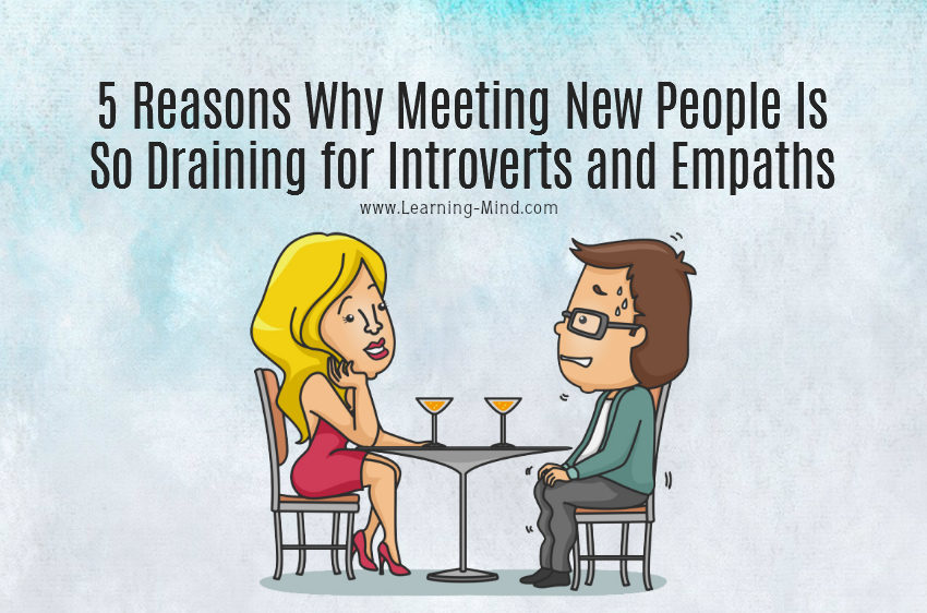 5 Reasons Why Meeting New People Is So Draining for Introverts and Empaths