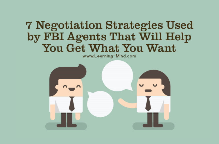 7 Negotiation Strategies Used by FBI Agents That Will Help You Get What You Want