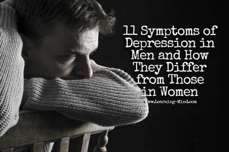 11 Symptoms of Depression in Men and How They Differ from Those in Women