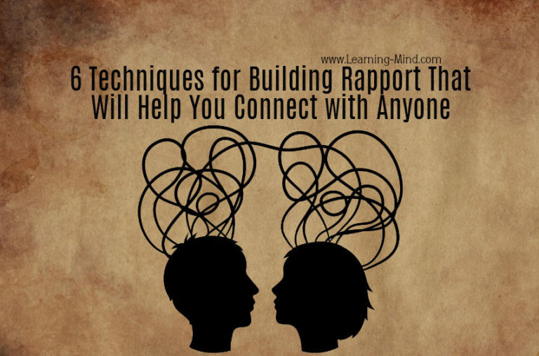 6 Techniques for Building Rapport That Will Help You Connect with Anyone