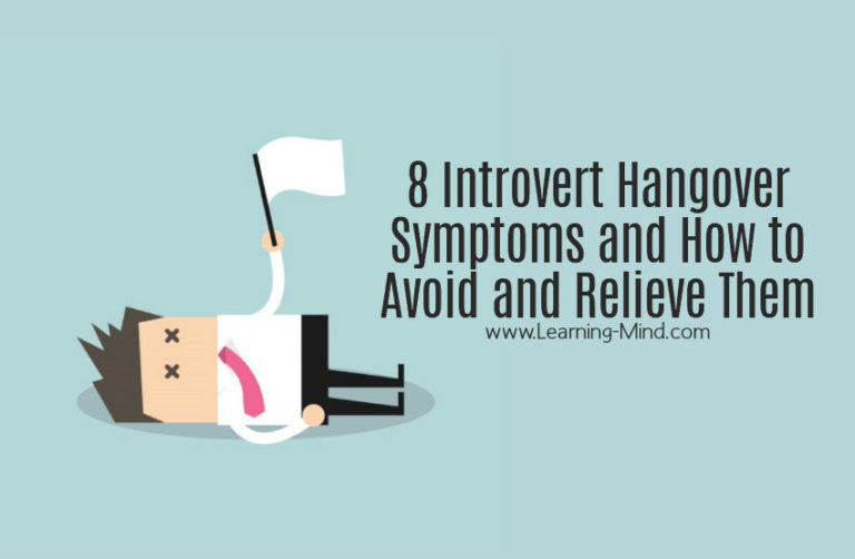 8 Introvert Hangover Symptoms and How to Avoid and Relieve Them
