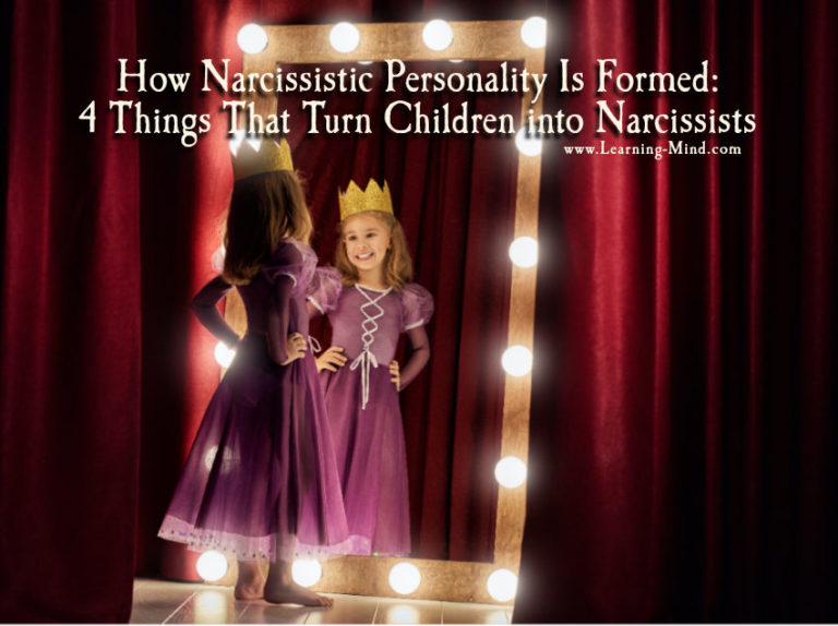 How Narcissistic Personality Is Formed: 4 Things That Turn Children into Narcissists