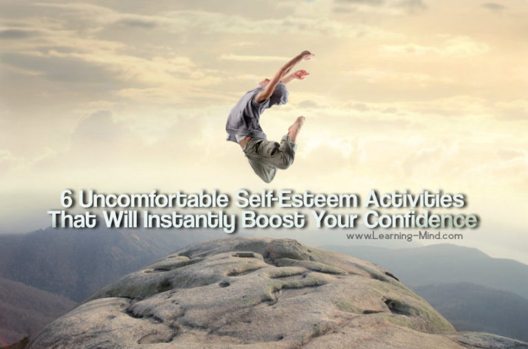 6 Uncomfortable Self-Esteem Activities That Will Boost Your Confidence