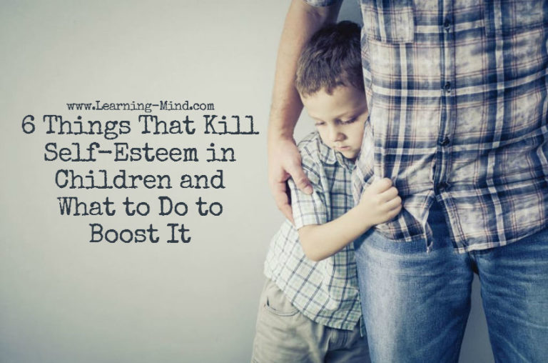 6 Things That Kill Self-Esteem in Children and What to Do to Boost It