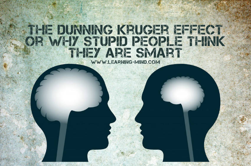 The Dunning Kruger Effect or Why Stupid People Think They Are Smart