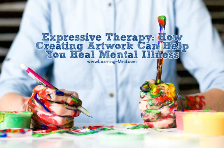 Expressive Therapy: How Creating Artwork Helps You Heal Mental Illness