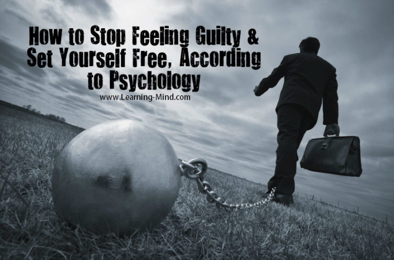 How to Stop Feeling Guilty and Set Yourself Free, According to Psychology