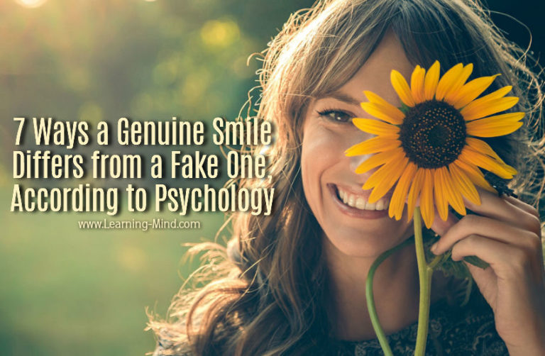 7 Ways a Genuine Smile Differs from a Fake One, According to Psychology