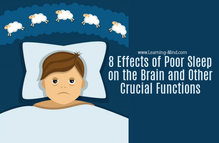 8 Effects of Poor Sleep on the Brain and Other Crucial Functions